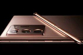 Unggahan konsep Samsung Galaxy Note 20. (Istimewa)