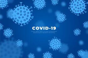 Ilutrasi virus corona atau Covid-19. (Freepik)