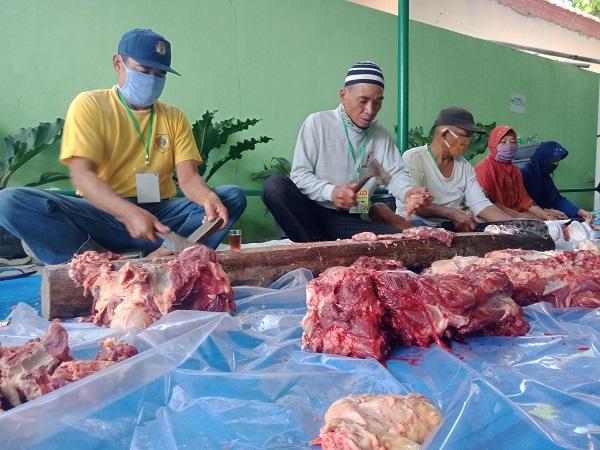 16 Kasus Temuan Cacing Hati Warnai Penyembelihan Hewan Kurban Di Wonogiri