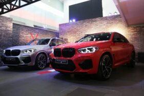 BMW X3 dan BMW X4 M Competition. (Antara)