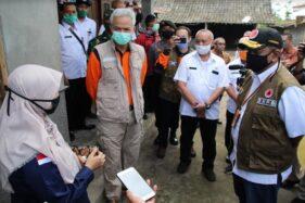 Gunung Merapi Bengkak, Gubernur Ganjar Minta Simulasi Evakuasi