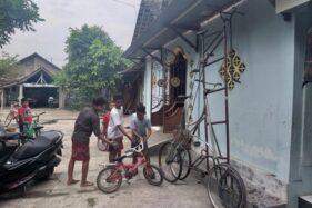 Bocah Pembuat Sepeda Tinggi di Klaten Hobi Utak-Atik sejak SD