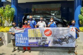 Yamaha Deta Klaten melakukan fogging gratis. (Istimewa)