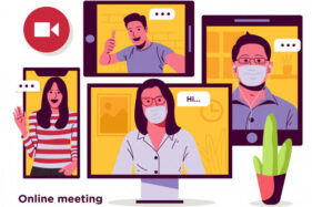 Ilustrasi webinar, online meeting (Freepik)