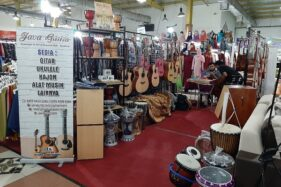 Showroom Java Guitar. (Istimewa)
