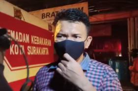 Diawali Suara Ledakan, Begini Kronologi Kebakaran Toko Bahan Kimia Bratachem Solo