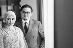 Laudya Cynthia Bella dan Engku Emran. (Instagram/@narmaeukgne)