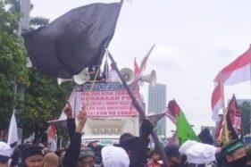 Massa PA 212 Dkk Berdemo di Senayan Tuntut 5 Hal Ini