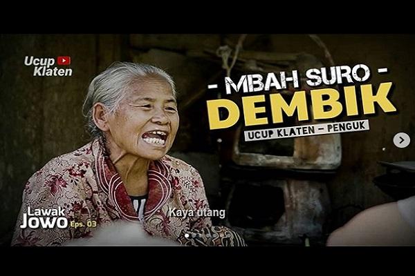 Setelah Mbah Minto, Giliran Mbah Suro Dembik Klaten Jadi Idola, Siapa Dia?