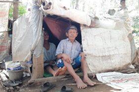 Kisah Mbah Tarso, Legenda Mancing Mania di Purwokerto Tinggal di Gubuk Karung