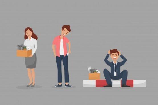 Ilustrasi pengangguran. (Freepik)