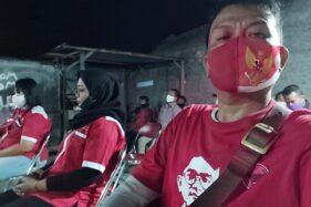 Puluhan Kader PDIP Jenguk Ketua Anak Ranting PDIP di Solo yang Diduga Dikeroyok