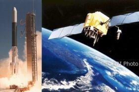 Palapa A1 diluncurkan dengan roket Delta 2914 dari Kennedy Space Center, Tanjung Canaveral, Florida, AS, 8 Juli 1976. (Infoastronomy.org)
