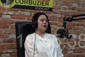Ketua DPR Puan Maharani di podcast Deddy Corbuzier (Youube/Deddy Corbuzier).