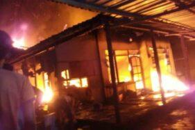 Kebakaran Hanguskan Bangunan Riri Konfeksi Sukoharjo