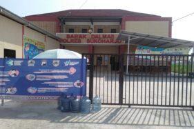 Kondisi Rumah Sehat Corona di Mandan, Kecamatan/ Kabupaten Sukoharjo menampung pasien positif tanpa gejala, Rabu (22/7/2020). (Solopos.com/Indah Septiyaning W)