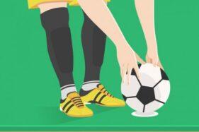 Ilustrasi pemain sepak bola. (Freepik)