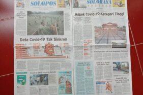 Koran Solopos edisi Sabtu, 4 Juli 2020. (Solopos-Rohmah Ermawati)
