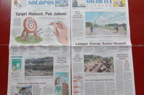 Solopos Hari Ini: Target Meleset, Pak Jokowi