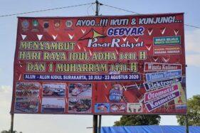 Logo TNI Dicatut di Spanduk Pasar Rakyat Alkid, Begini Tanggapan Keras Dandim Solo