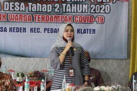 Bupati Klaten Sri Mulyani Segera Cuti Demi Pilkada 2020