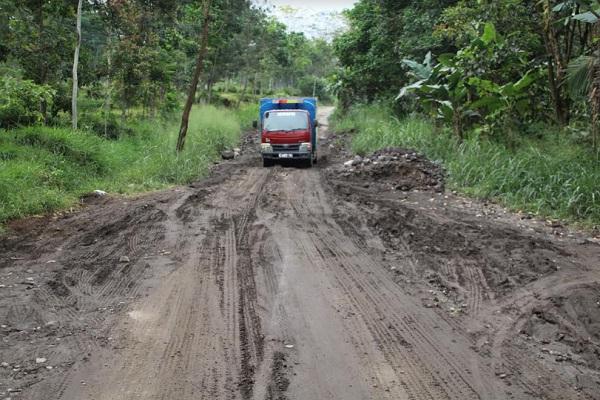 Rusak Parah, Jalur Evakuasi Merapi di Klaten Dibenahi Pakai Dana Ini