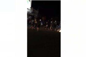 Video Keributan di Tugu Adipura Sragen Viral Via WA, Ternyata Ini Pemicunya
