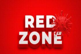 Ilustrasi zona merah Covid-19. (Freepik)