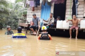 Ilustrasi - Tujuh orang warga yang terjebak banjir di Desa Seumira, Kecamatan Teunom, Kabupaten Aceh Jaya. (Antaranews.com)