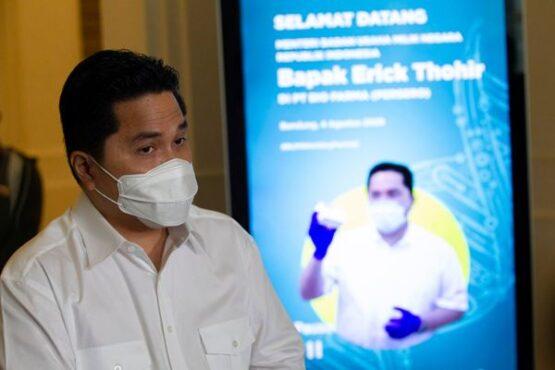 Menteri BUMN, Erick Thohir. (Istimewa)