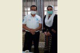 Achmad Purnomo dan B.R.A. Putri Woelan Sari Dewi. (Istimewa/Dok Pribadi B.R.A. Putri Woelan Sari Dewi)
