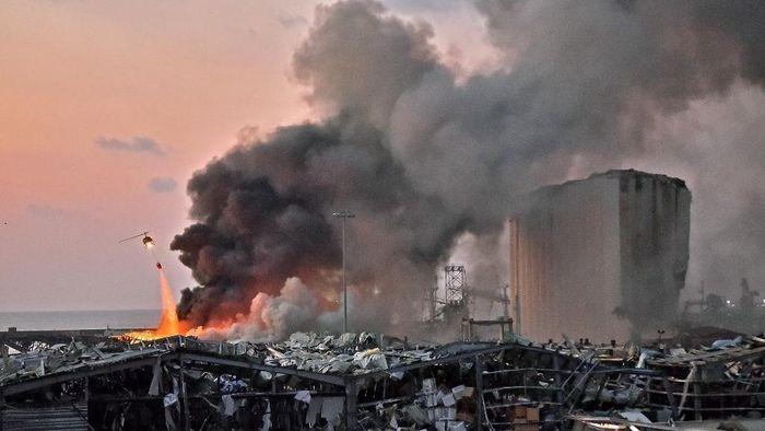 Mengerikan! Beirut Lebanon Diguncang Ledakan Besar