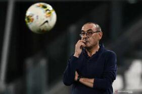 Pelatih Juventus Maurizio Sarri (Antaranews/AFP)