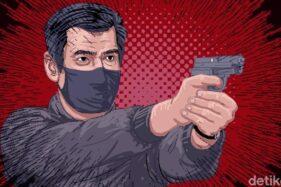 Ilustrasi Penembakan Misterius di Tangerang Selatan. (Detik.com)