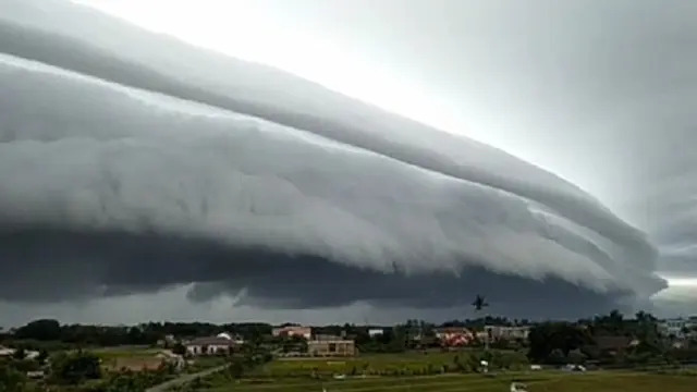 Begini Penjelasan BMKG soal Awan Tsunami di Meulaboh Aceh