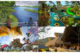 Rencana wahana pada pengembangan wana wisata di Hutan Pengaron, Jawa Tengah. Saat itu usulan nama masih Jateng Park. (Istimewa/Pemprov Jateng)