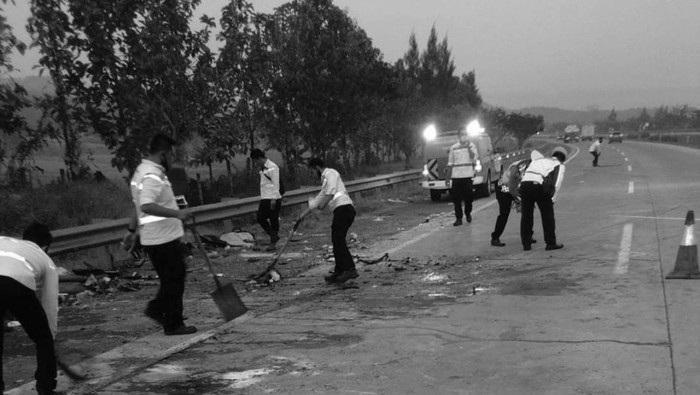 Cerita Paniknya Keluarga Korban Kecelakaan di Tol Cipali