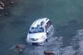 Kecelakaan di poros Bulukumba Kabupaten Sinjai. (Terkini.id)