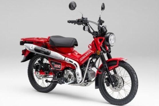 Penampakan Honda CT125 yang diklaim mampu menjelajah di jalur perkotaan dan pegunungan atau off road. (Semarangpos.com-Marcomm Astra Motor Jateng)