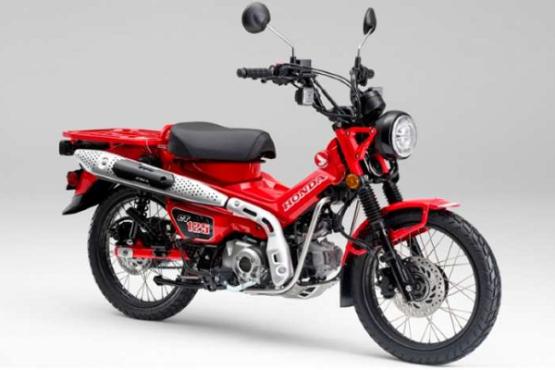 Motor bebek trekking Honda CT125. (Istimewa/AHM/Bisnis.com)