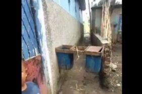 Tong Tahu Nyangkut di Gang Sempit, Bikin Ngakak Warganet