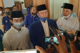 Gibran dan Teguh Hadiri Rapat Pleno PAN Solo Bahas Usulan Cawali-Cawawali Ke DPP