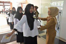 Pelaksanaan tes CPNS formasi 2019 Pemkot Salatiga yang digelar Februari 2020. (Semarangpos.com-Humas Setda Kota Salatiga)