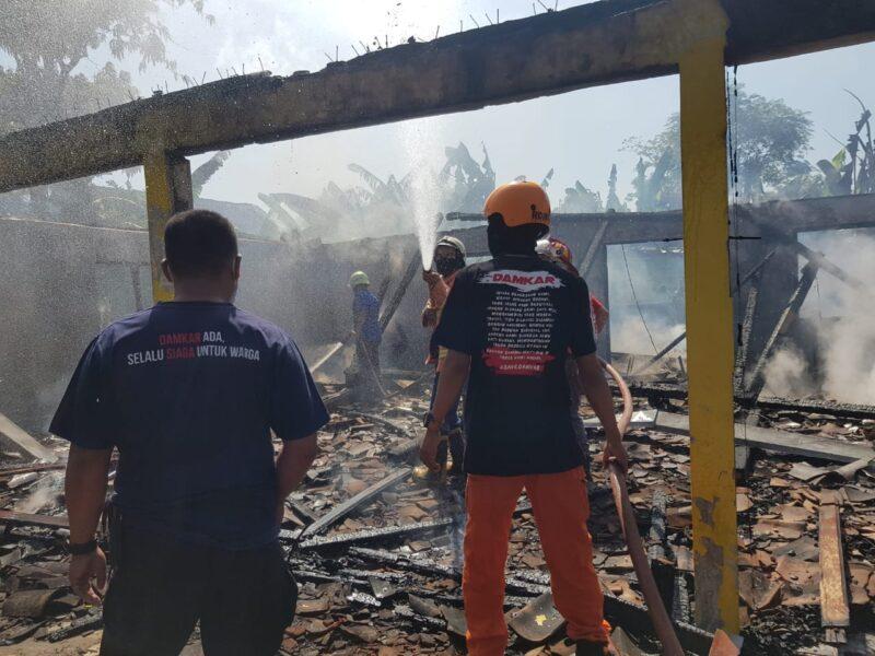 2 Kebakaran di Karanganyar Sabtu, Rumah di Gondangrejo dan Colomadu
