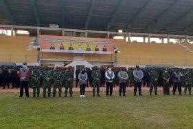TNI Polri Dikerahkan Untuk Tekan Kasus Covid-19 di Madiun