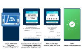 GoPay Sekarang Bisa Tarik Tunai di ATM BCA, Begini Caranya