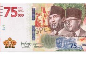 Begini Cara Dapatkan Uang Pecahan Rp75.000 yang Baru Saja Diluncurkan