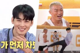 Cuplikan adegan episode 132 variety show All The butlers (Soompi)