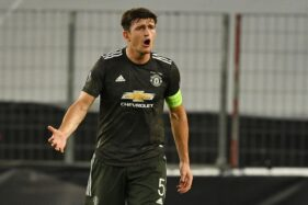 Kapten Manchester United, Harry Maguire. (REUTERS)