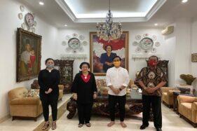 Gibran saat bertamu ke rumah Megawati bersama Rudy, Rabu (5/8/2020). (Istimewa)